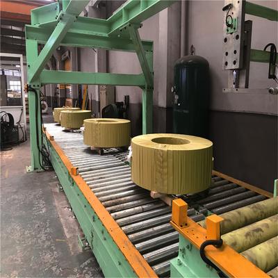 重型鋼帶臥式包裝線