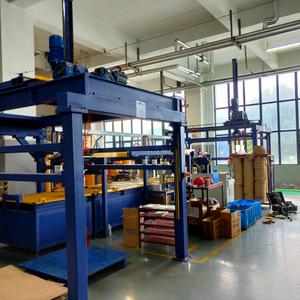 供應塑膠盤管自動包裝機組